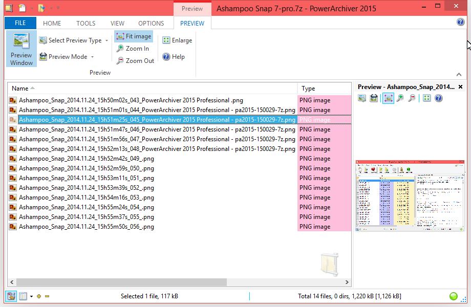 PowerArchiver 2015 - New Interface